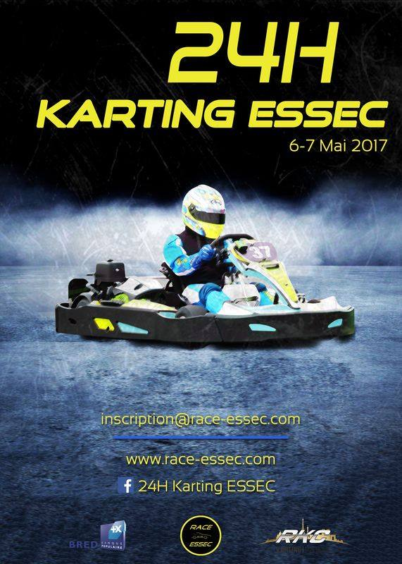 24h karting Race ESSEC